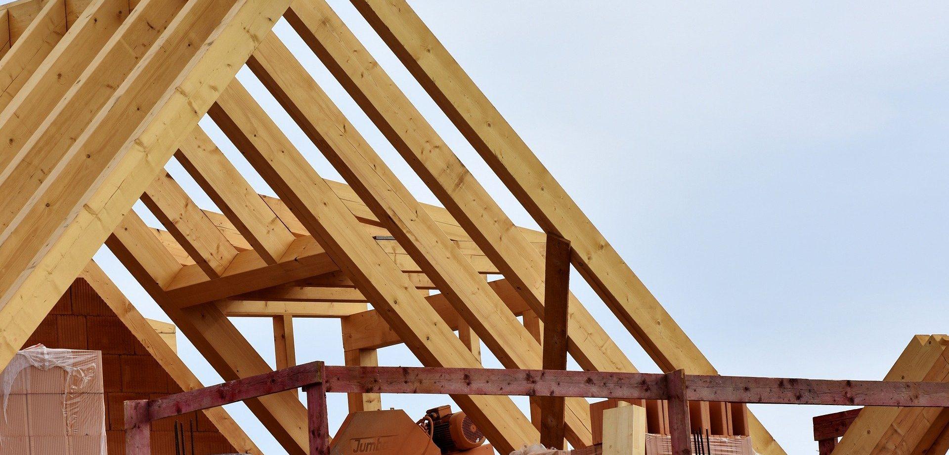 Dachstuhl Holz